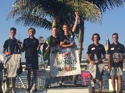 Huit élèves du Pôle Voile distingués aux championnats du Monde !